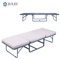 OFFICE USE STEEL FOLDING BED WITH FABRIC COVER