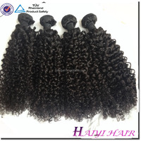 100% Thick ! Large Stock Factory Wholesale Virgin Indian Kinky Curly Remy Hair Weave