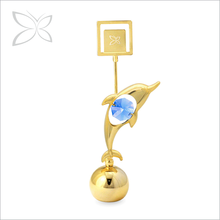 Special Price Extreme Gold Plated Metal Dolphin Paper Weight