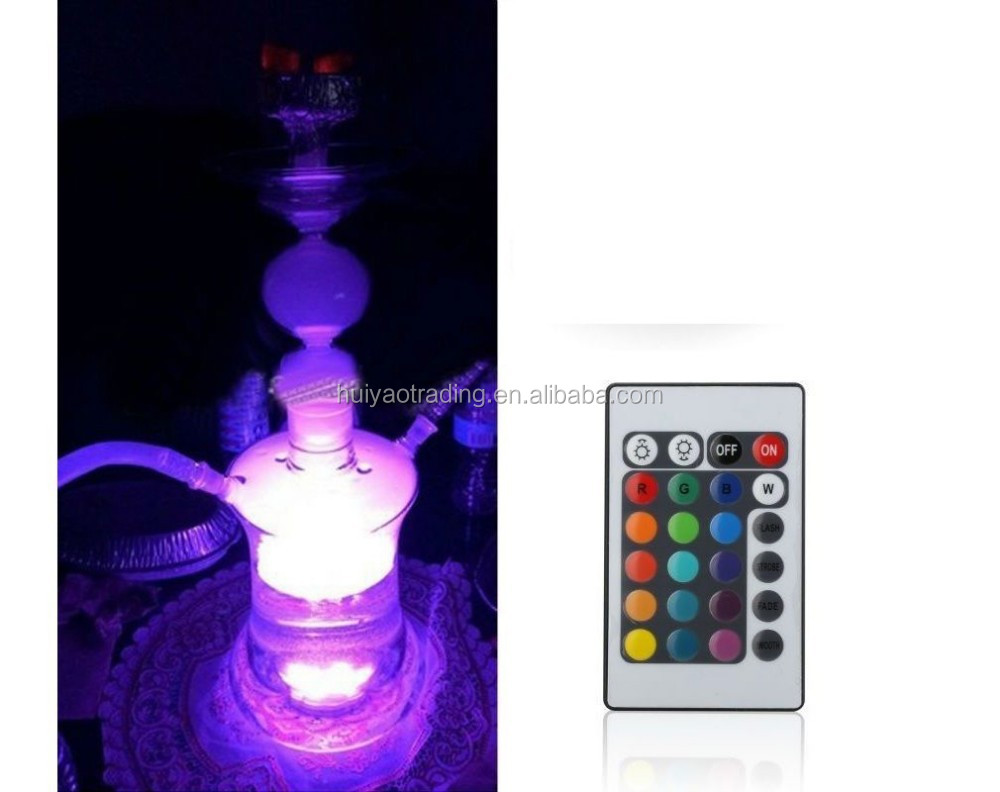 Light LED Blinking Color For Glass Hookah LED Light Base With Remote