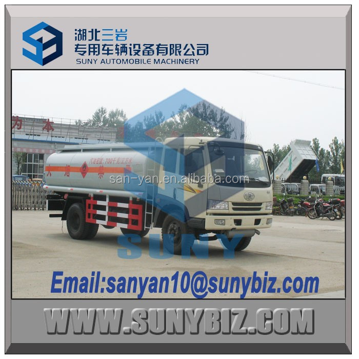 6m3 7 m3 new fuel tank truck fuel tanker truck oil transportation truck for sale