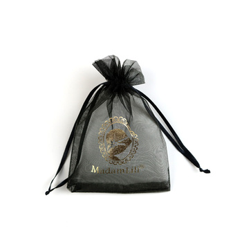 specialize custom full color drawstring organza bags
