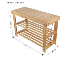 shoe rack bench bamboo bench with shoe storage