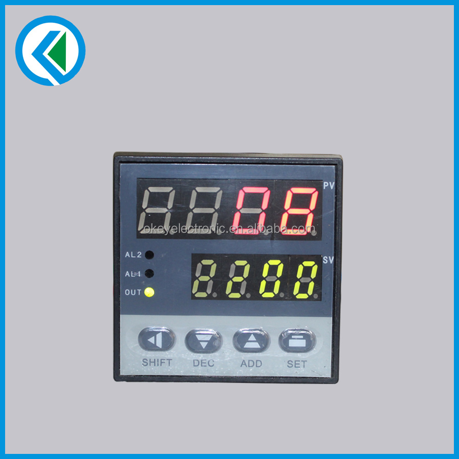 dual display XMT-7 PID temperature indicator in size 48*48mm
