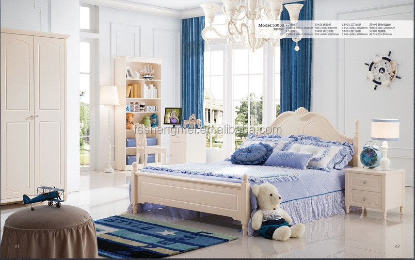 Girls Boys Latest Design Cheap Chinese Bedroom Furniture