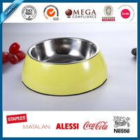 beautiful high quality stainless steel pet bowl