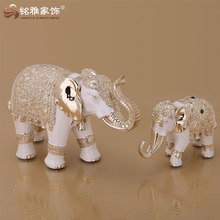 Hot sales decorative resin thai elephant statues for home decor