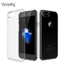 Ultra Slim Transparent Crystal Clear Flexible Soft TPU Case Cover for Apple iPhone 7