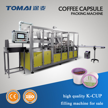 Automatic k cup coffee capsule filling sealing machine factory