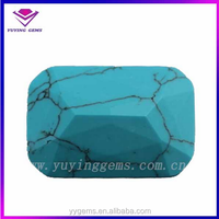 high quality Afghanistan turquoise synthetic turquoise stone rough