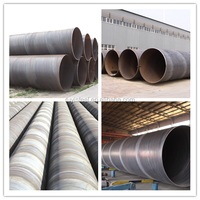 used in construction area double-side spiral submerged ARC welded steel pipe