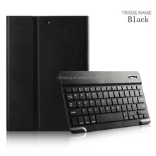 Hot new products Folio five colors synthetic pu leather bluetooth keyboard tablet cover for Apple iPad Air1/2