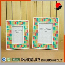Handicraft red&green Mosaic Glass Photo Frame, Picture Frame