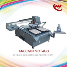 uv led Flatbed digital t-shirt printer/textile printing machine/fabric printing machine