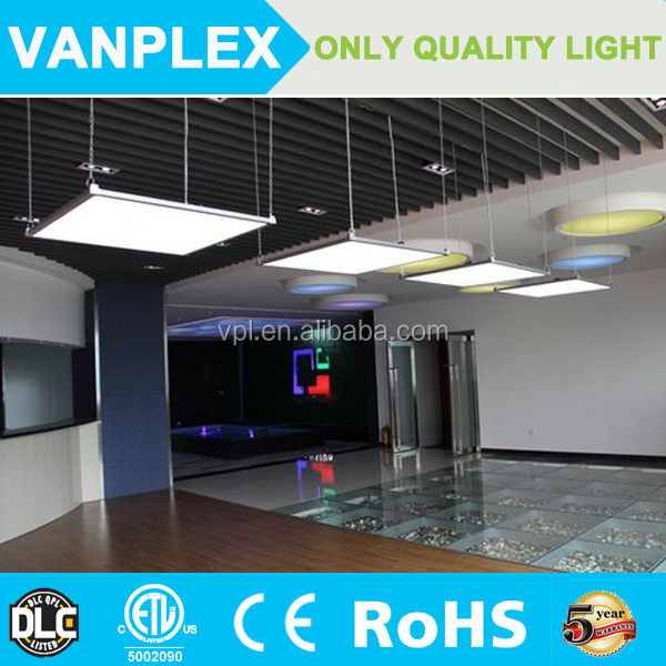 130-140lm/w High lumen 2x2 60x60 cm led panel lighting dimmable led panel light square