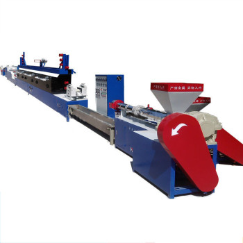 new & recycled PP granule PP strap band plastic strap making machine