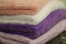 Pastel Color Soft Fluffy 1 Ply Suede Blanket for single