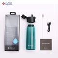 Smart water bottle connect to smart phone via bluetooth with app support IOS & Android