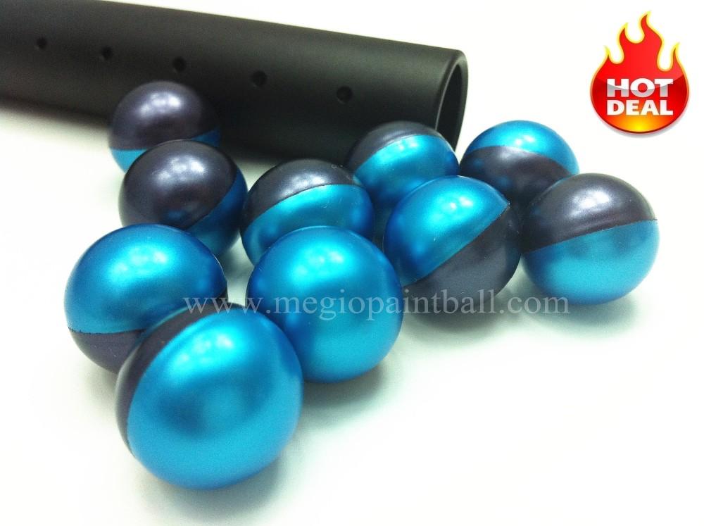Megio Advanced Grade Paintball Metallic Blue Purple Dual color shell