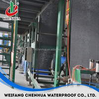 SBS modified bitumen waterproofing rolls building plant for roofing in China