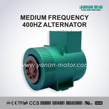 ZPD Series 400Hz Medium Frequency Brushless Alternator