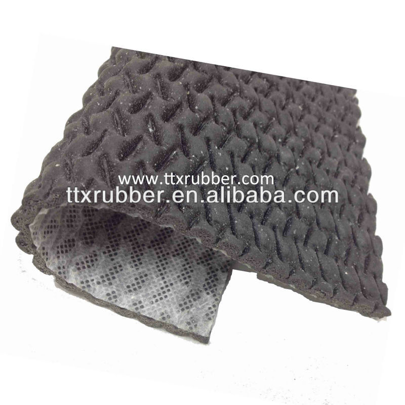 Rubber Underlay material,foil backed rubber underlay