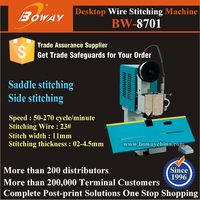 2-4.5mm binding thickness Desktop Book Wire Stitching Machine