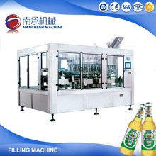 3-In-1 Small Glass Bottle Beer Rinser Filler Capper Bottling Plant