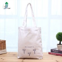 Promotional heavy cotton canvas fabric souvenir tote bag