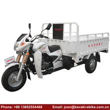 China Kavaki Brand 3 Wheel Motorized Adult Bike Gas Scooter Vehicle Moped Cargo Tricycles Products
