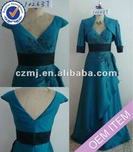 Long sexy mother of the bride dress with jacket 2012