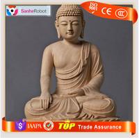 Zigong Sanhe Custom Religious Temple resin/fiberglass buddha statue