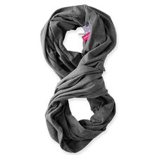 fashion cotton scarf with zipper pocket head scarf