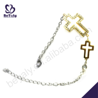 custom available wholesale 925 sterling silver rosary bracelet