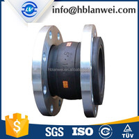 High Quality EPDM Galvanized flange type rubber concrete metal expansion joint