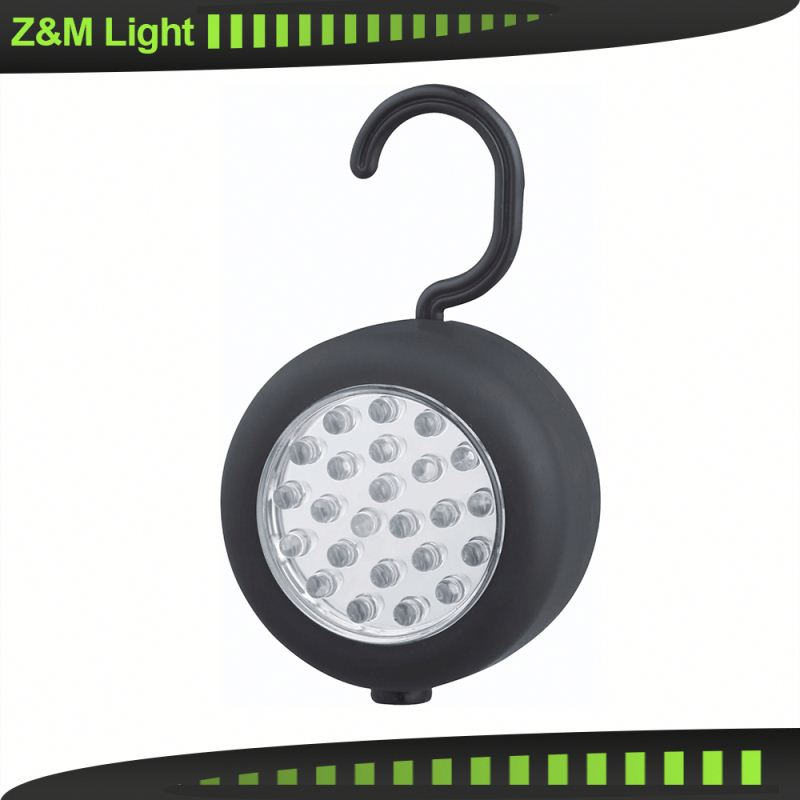 Z&M 24 LED Inspection Light Magnetic Back With Swivel Hook auto tuning accessories from maiker