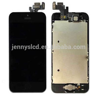 Full LCD Display touch Screen Digitizer Assembly for Iphone 5G lcd digitizer, For Iphone 5G lcd assembly