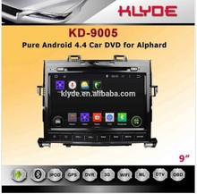 Chinese factory Android 4.4.2 car DVD player with touch screen,radio AM, GPS navigation system