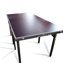 Manufacturer customizable sports and entertainment 12MM steel frame kids cheap child mini table tennis table