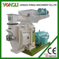 ISO approved full automatic + high quality pelletizer machine for burning wood