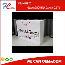 Good quality paper shopping bag brand name All kinds on sale/firewood carrying bag
