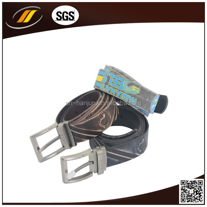 Wholesale belt leather, brown leather belt