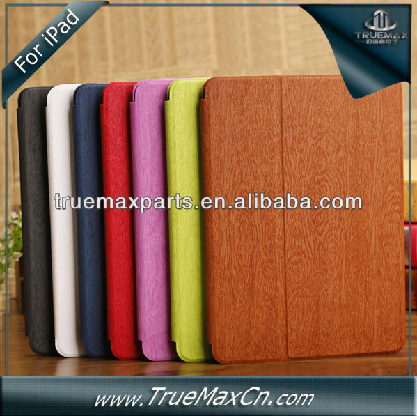 Wholesale factory flip leather case for iPad Air