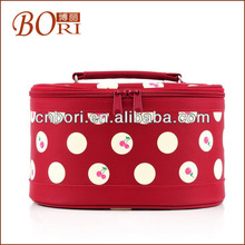 Fashion nylon travel cosmetic bags women canvas bag organizer