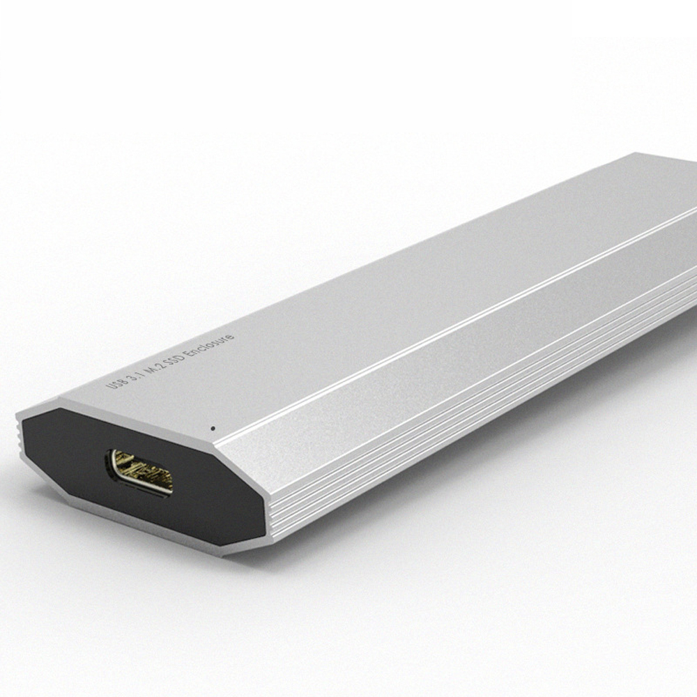 High-speed reading M.2 NVME to USB3.1 SSD M.2 mobile hard disk box