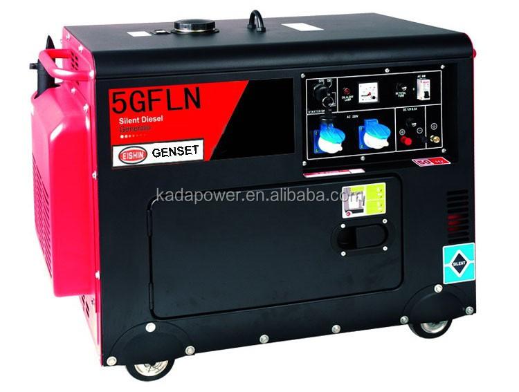 5kv Diesel Generator Genset Home Use 5kw Diesel Generator