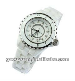 2012 vogue ladies ceramic waterproof watch