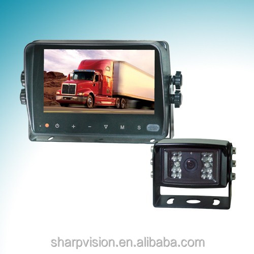 7 inch digital car monitor backup camera system with car camera