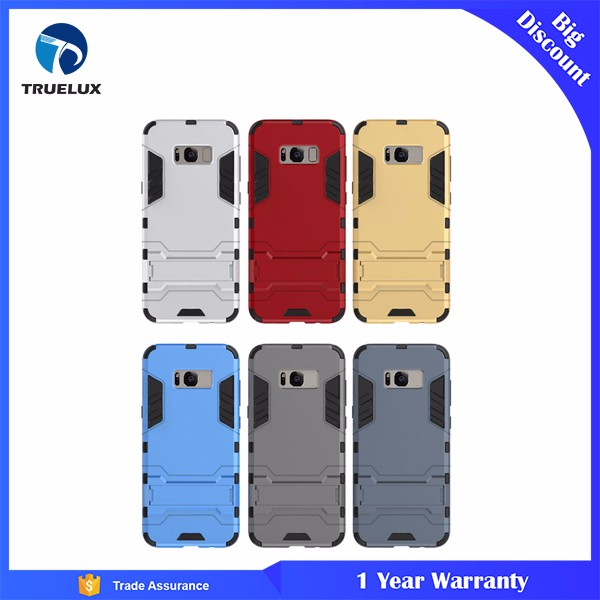Wholesale Price Unique Design Transformers PC+TPU Cases for Samsung S8 with Stand