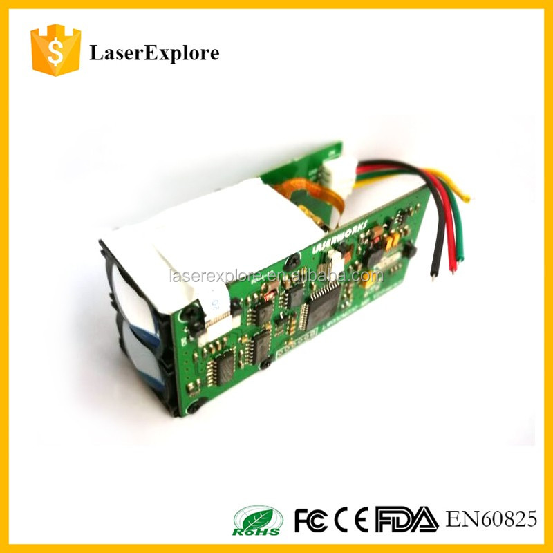 RS232 Laser Rangefinder module 4 functions used for security RS232 Finder